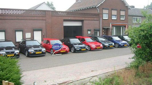 cosworth dealer, sierra, ford, race, roermond, Jack